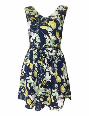 Jardin - Golden Night Dress