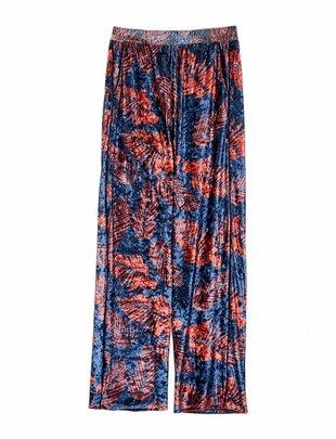 Grace & Mila Razane Velvet Flower Pantalon