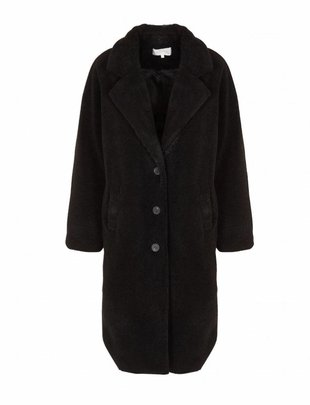 Grace & Mila Refuge Black Teddy Coat