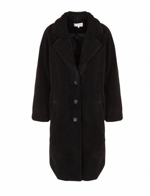Grace & Mila Refuge Black Teddy Coat