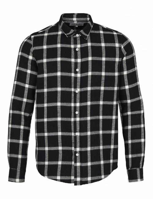 Just Junkies Thom Iris Black&White Checked Shirt