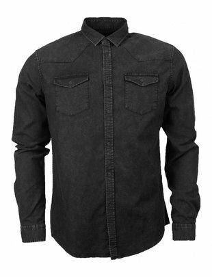 Indicode Gonzalo Western Shirt Black