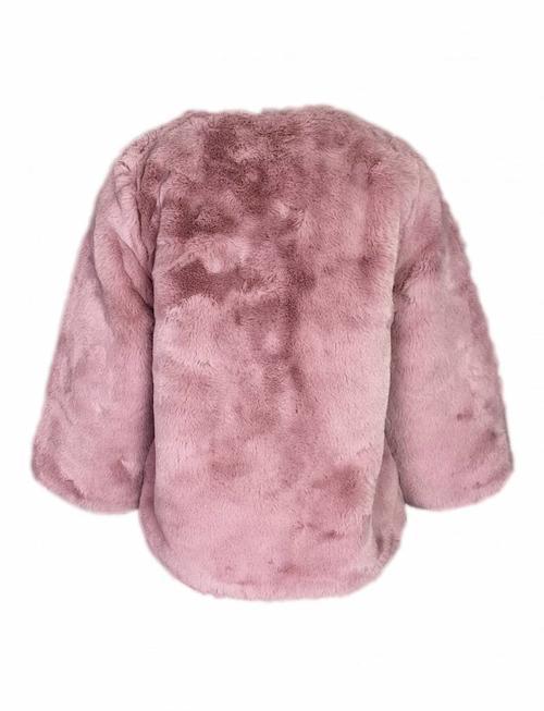 Pink Powder Fluff Coat