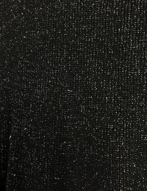 Autumn Black Sparkle Skirt