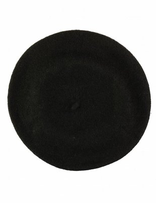 Wool Beret Black