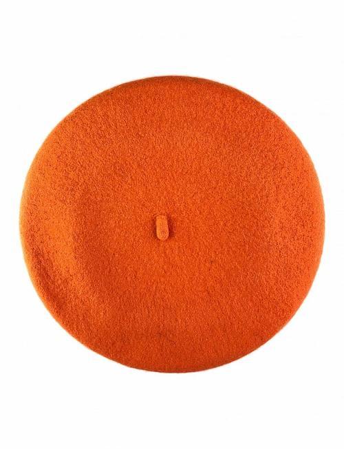 Wool Beret Orange