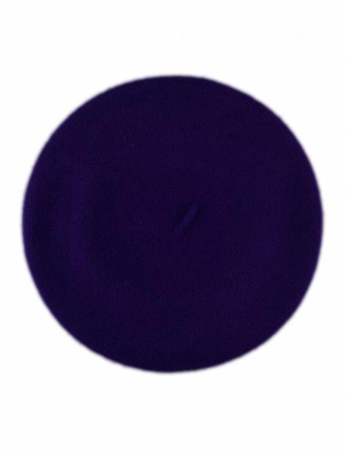 Wool Beret Cobalt