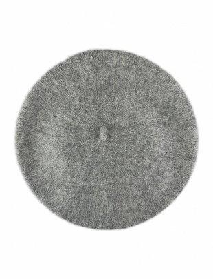 Wool Beret Light-Grey