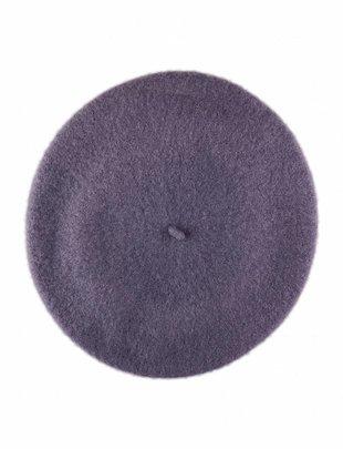 Wool Beret Purple