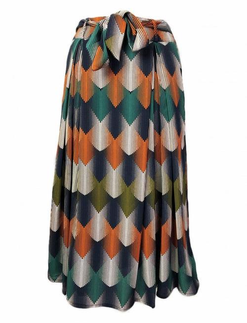 Seasonal Argyle Skirt