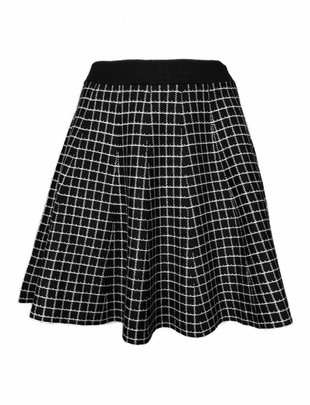 Parisian Checked Skirt