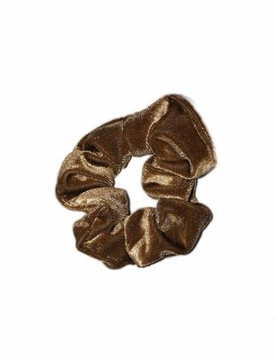 Scrunchie Light Brown