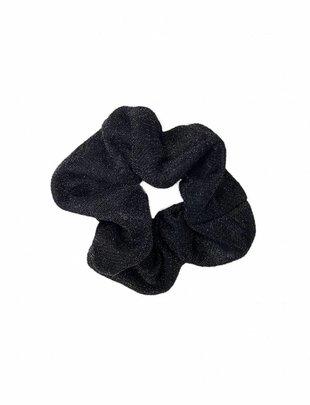 Scrunchie Glitter Black