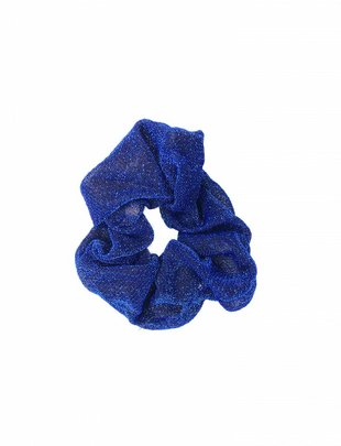 Scrunchie Glitter Blue
