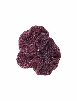 Scrunchie Glitter Soft Pink