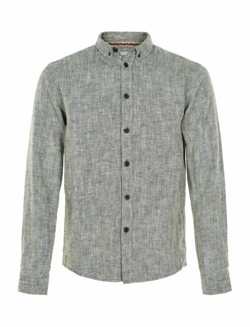 Anerkjendt Konrad Seafoam & Herringbone Shirt