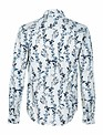 Anerkjendt Konrad White Ice Blue Floral Shirt