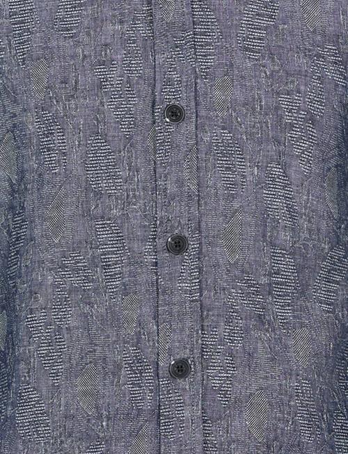 Anerkjendt Konrad Linen Leaf Weave Shirt
