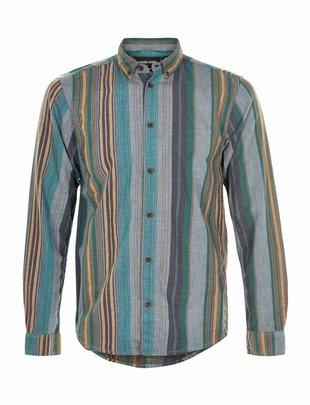 Anerkjendt Konrad Sediment Soft Striped Shirt