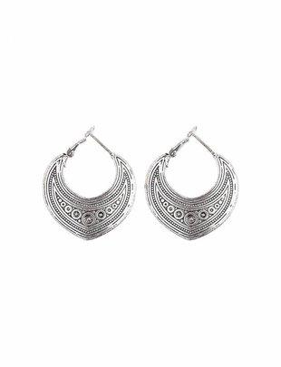 Turkish Drop Earrings - Silver