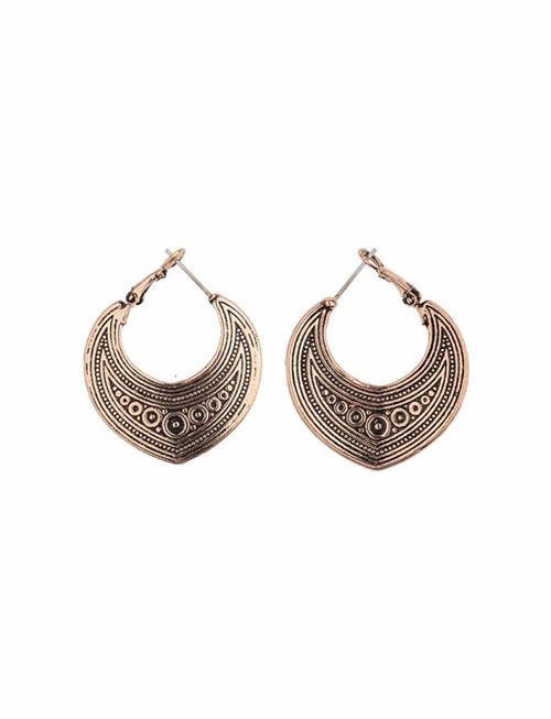 Turkish Drop Earrings - Rose Gold
