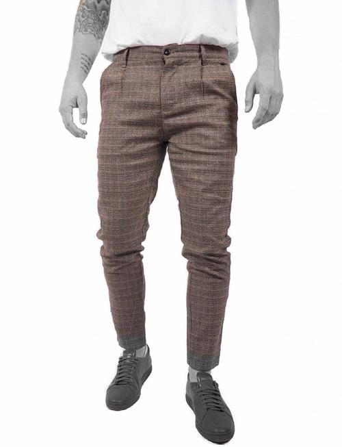 Just Junkies Linus Slim Check Pants