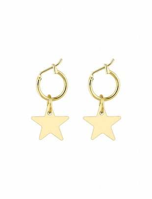Little Star Earrings - Gold
