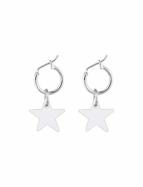 Little Star Earrings - Silver