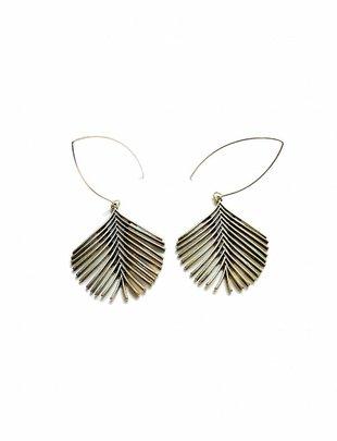 Brushed Fern Earrings