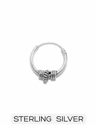 Sterling Silver - Boho Earring - Style 4 (p/s)