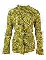 Rut&Circle Elsa Yellow Leopard Print Blouse
