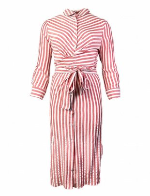 Striped Taffy Beach Dress