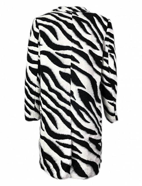 Zesty Zebra Overcoat