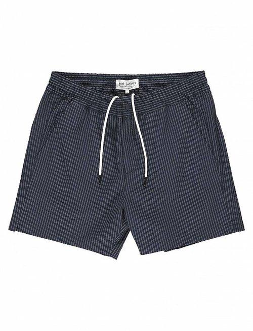 Just Junkies Create Navy Pinstriped (Swim) Shorts