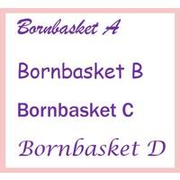 thumb-Baby Badjas roze met naam-2