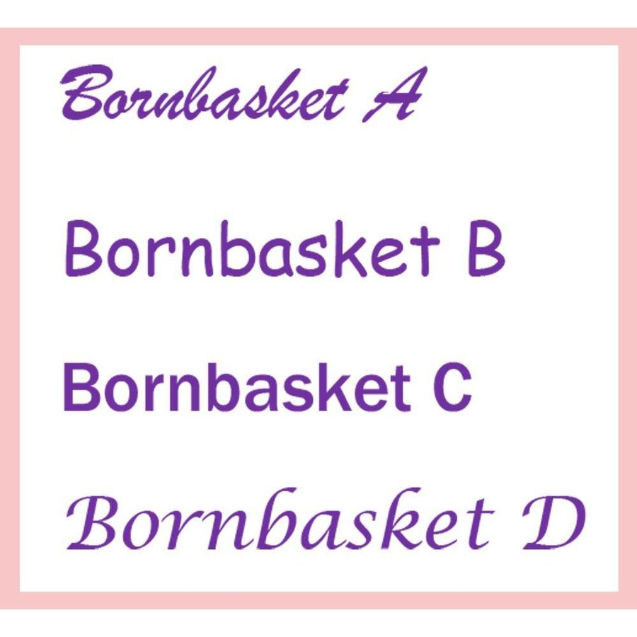 Baby Badjas roze met naam-2