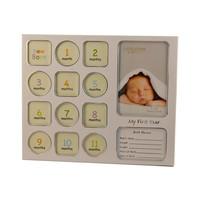 Fotolijst Baby's eerste jaar