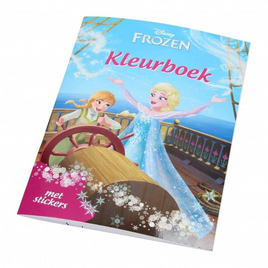 Disney Frozen Kleurboek met stickers-1
