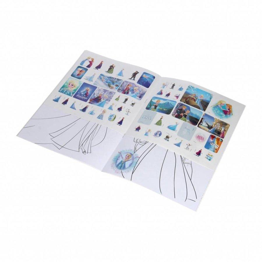 Disney Frozen Kleurboek met stickers-2