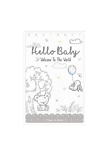 Mijlpaalkaarten Hello Baby