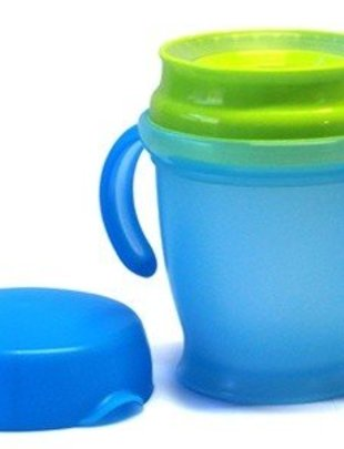 Mykko Kiddbyboo Anti-Mess Cup Azur/Lime