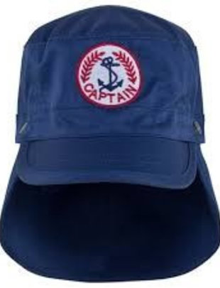 Sunuva swimwear Boys Blue captain cap