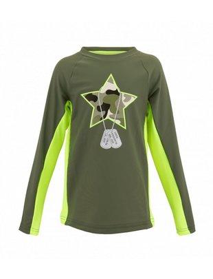 Sunuva swimwear Sunuva UV Shirt Camo 2-3 A