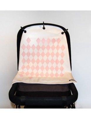 Kurtis Kurtis pram curtain - Harlequin Pink