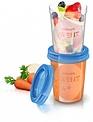 Avent Avent Natural Bewaarpotjes voor Voeding 5 stuks