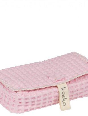 Koeka Koeka Hoes Voor Babydoekjes Antwerp Old Pink