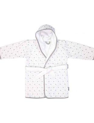 Bébé Jou BebeJou Bath robe grey stars