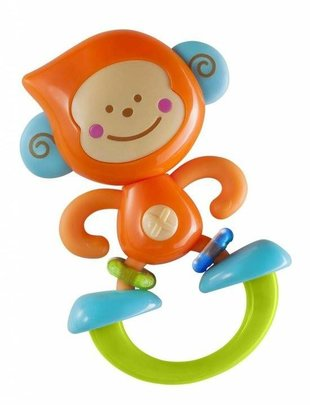 B Kids B Kids Rattle & Teether Bebee Monkey