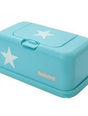 Funky Box Star Baby Wipes Green