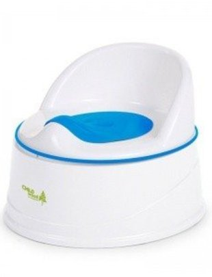 Childhome Childhome Potty + Step 3 in 1 Blue & White